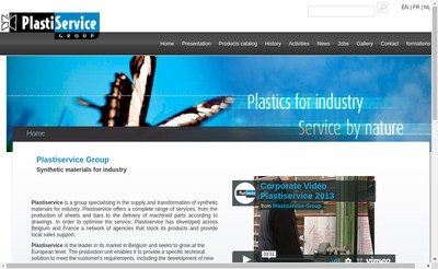 Site internet de Plastiservice France
