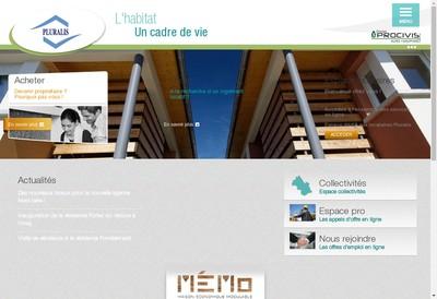 Site internet de Pluralis