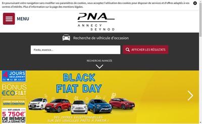 Site internet de Pna