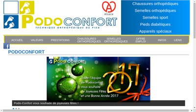 Site internet de Podo Confort