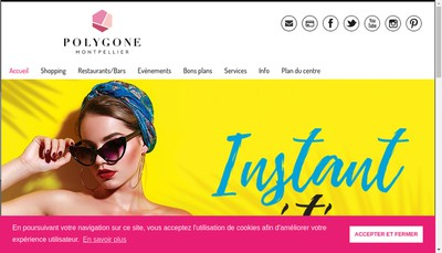 Site internet de Polygone
