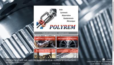 Site internet de Polyrem