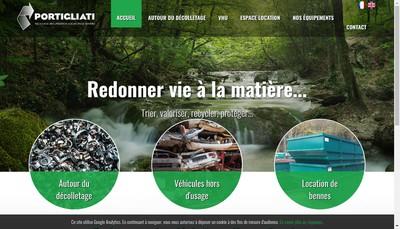 Site internet de Portigliati