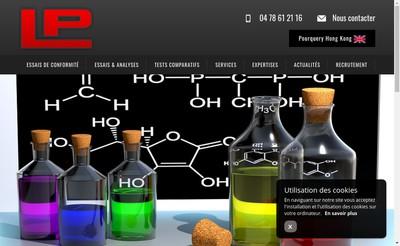 Site internet de Laboratoires Pourquery