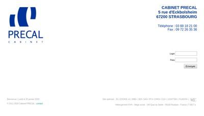 Site internet de Precal
