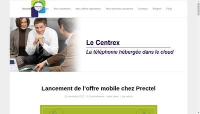 Site internet de Prectel