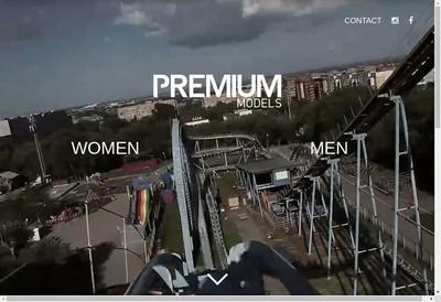 Site internet de Premium Models