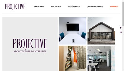 Site internet de Projective