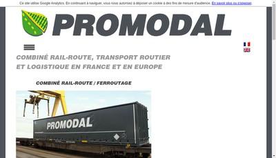 Site internet de Promodal
