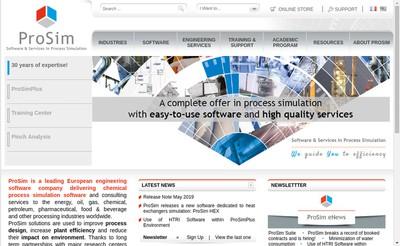 Site internet de Prosim SA