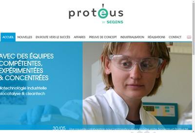Site internet de Proteus