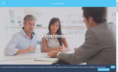 Site internet de Proximmonet
