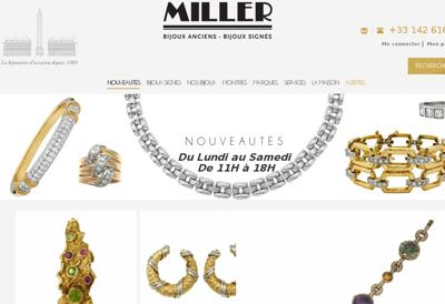 Capture d'écran du site de SARL Publi Quercy