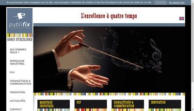Site internet de Publifix Industries