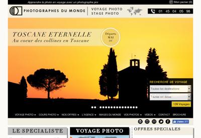 Capture d'écran du site de Publyqual