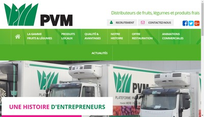 Site internet de Pvm