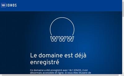 Site internet de Quadrature Restauration