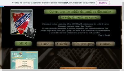 Site internet de Restaurant le Quai Gourmand