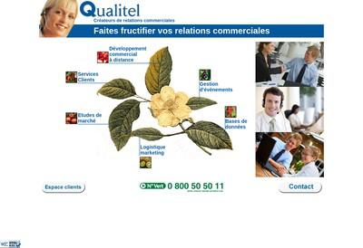 Site internet de Qualitel