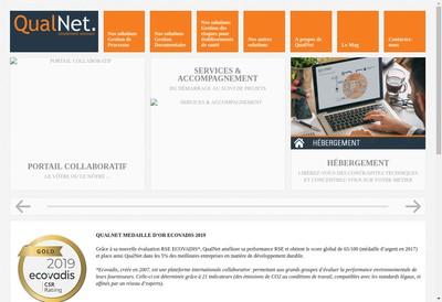 Site internet de Qualnet