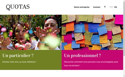 Site internet de Quotas