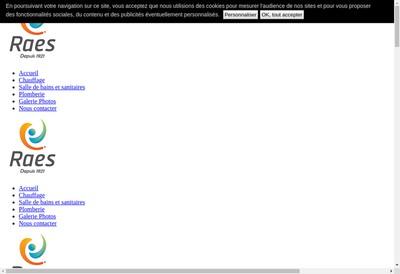 Site internet de Etablissements Raes Pere et Fils