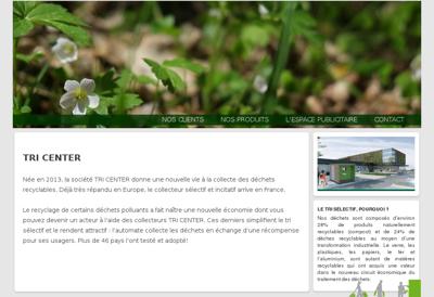Capture d'écran du site de Raf Constructions
