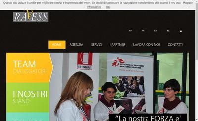 Site internet de Ravess France