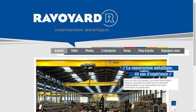 Site internet de Ravoyard Holding SA