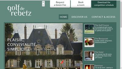 Site internet de Golf de Rebetz