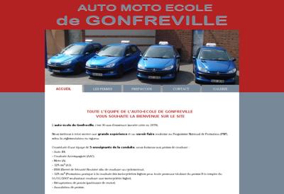 Capture d'écran du site de Redcent Automobiles