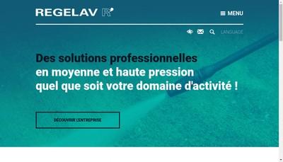 Site internet de Regelav