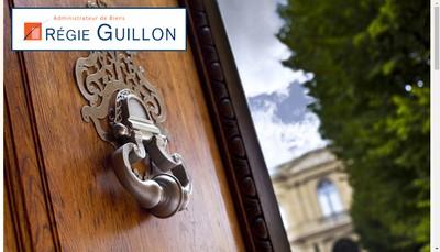 Site internet de Regie Guillon