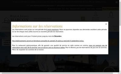 Site internet de Regis Marcon