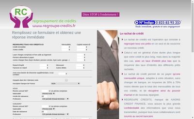 Site internet de Axiome Finance