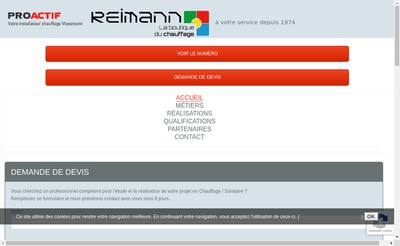 Site internet de Reimann