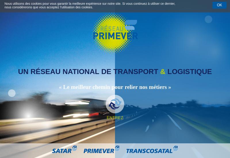 Capture d'écran du site de Societe Agenaise Transp Affret Routiers