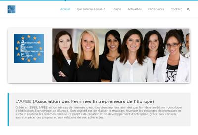 Capture d'écran du site de Restaumobile