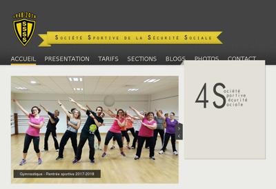 Capture d'écran du site de La Brasserie