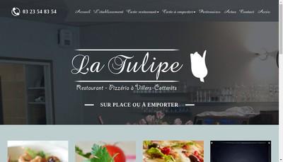Site internet de SARL la Tulipe