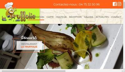Site internet de La Truffolie