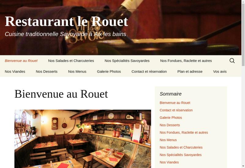Capture d'écran du site de Lerouet