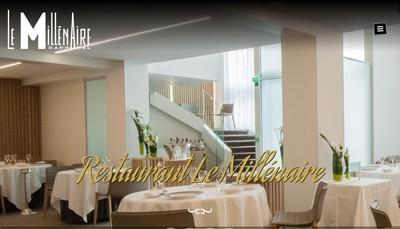 Site internet de Restaurant le Millenaire Laurent Laplaig