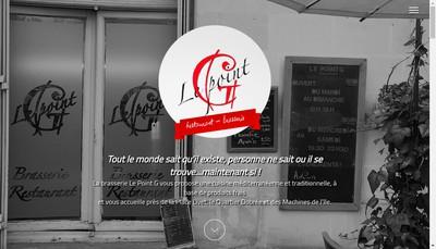 Site internet de Le Point G
