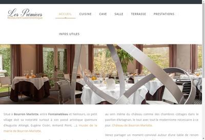 Site internet de Les Premices