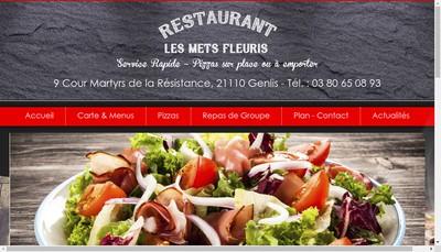 Site internet de Les Mets Fleuris