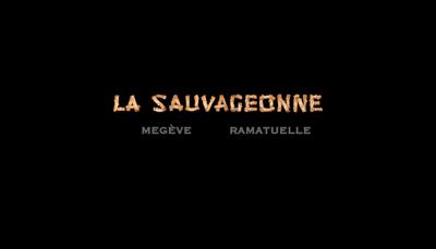 Capture d'écran du site de La Sauvageonne