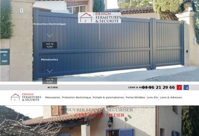 Capture d'écran du site de Le Shang'Hai
