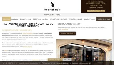Site internet de Le Chat Noir