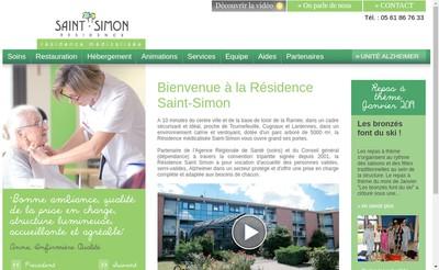 Site internet de Residence Saint-Simon